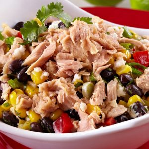4 Bean and Tuna Salad